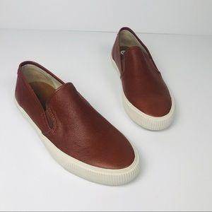 Frye Men's Leather Slip on Sneaker